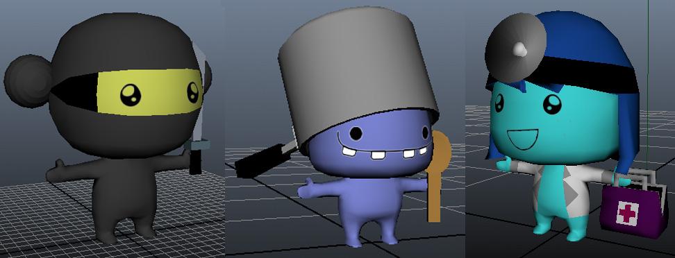 3DCharacters