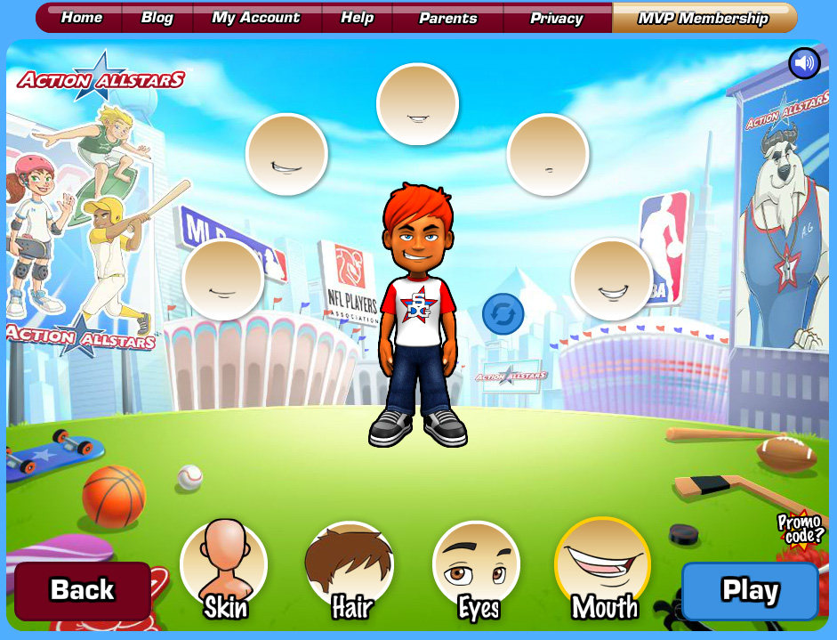 A Sports-Themed Virtual World for Kids: Action AllStars | Felipe Lara